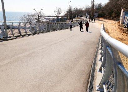 Велоэстакаду в Одессе введут в эксплуатацию этой весной