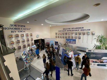 Почти тысяча абитуриентов посетили День открытых дверей в Одесской Юракадемии
