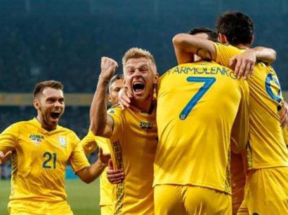 Сборная Украины получила рекордные призовые за выход на Евро-2020
