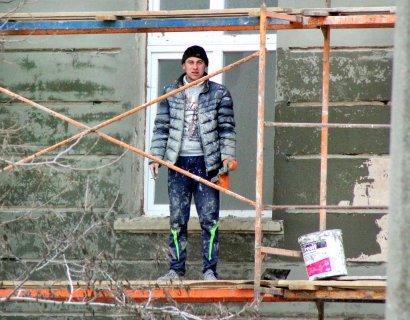 В школе № 122 на улице Старопортофранковской проводят капитальный ремонт