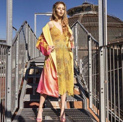 Молодая одесская модель украсила обложку L'OFFICIEL