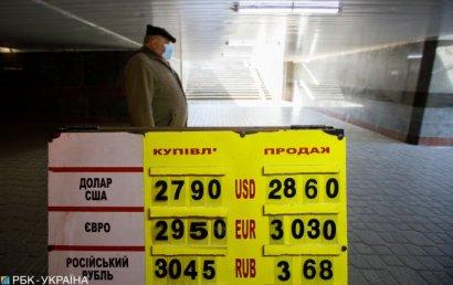 Украинцы сократили продажу валюты и увеличили покупку